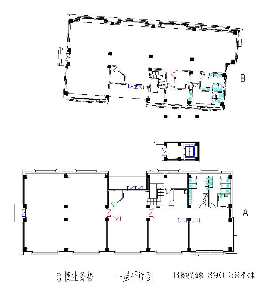 楼房电路图图纸